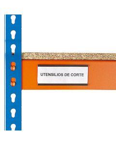 Etiquetas magnéticas para estantes para cargas pesadas
