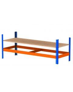 Nível extra para estantes de aço para cargas pesadas Metal Point Plus