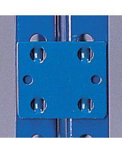 Uniões entre módulos para estantes para cargas pesadas