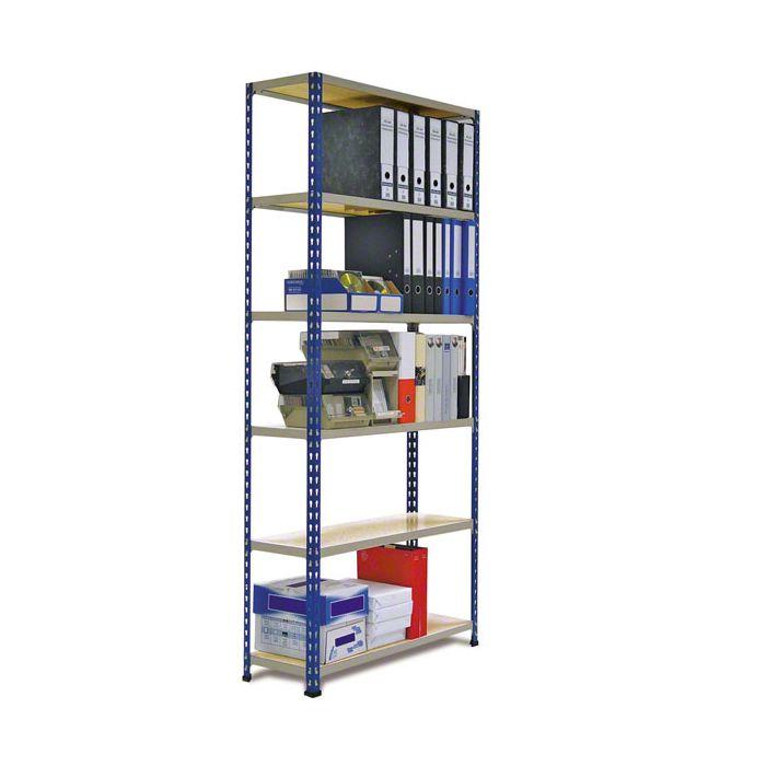 Estantes de Aço para cargas médias e ligeiras Metal Point 2