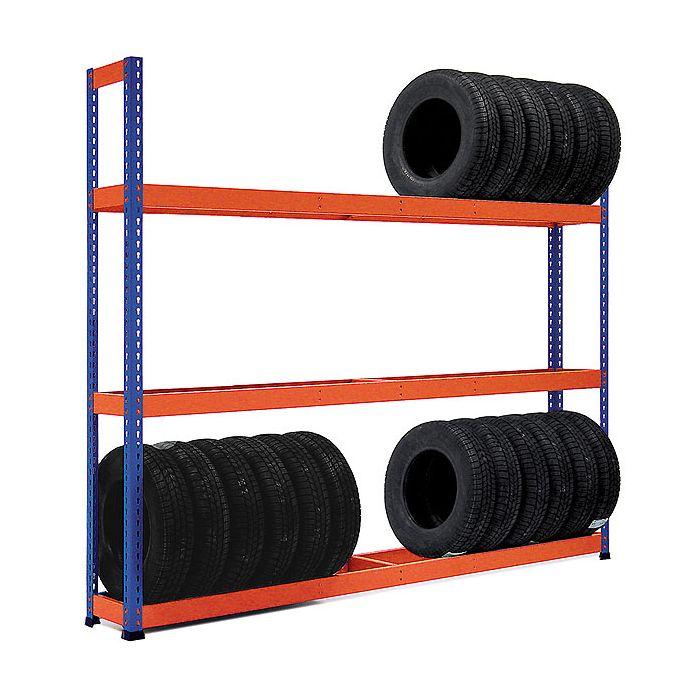 Estantes de Aço Metal Point Plus para pneus